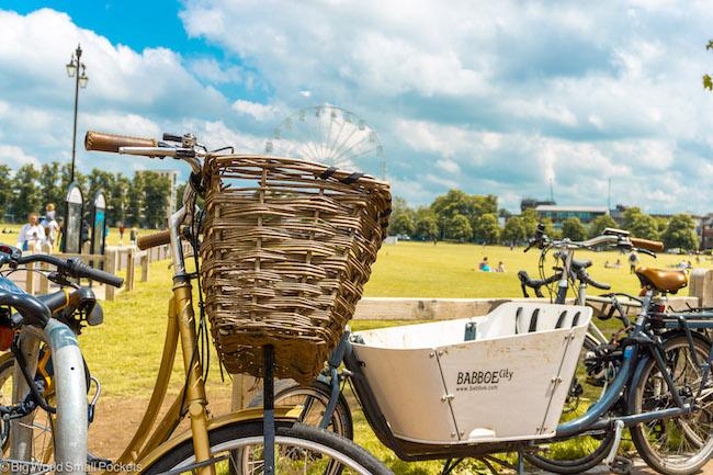 England, Cambridge, Bikes