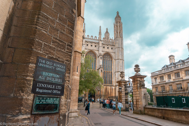 England, Cambridge, Kings College