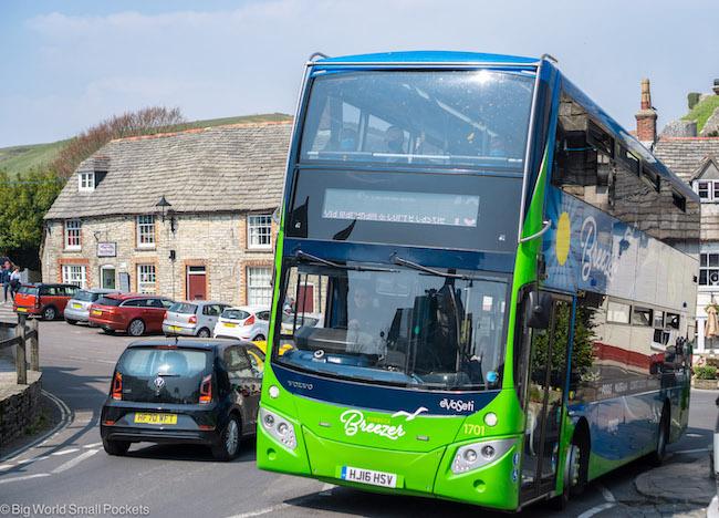 England, Dorset, Breezer Bus