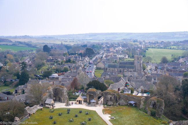 England, Dorset, Corfe Village