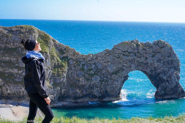 England, Dorset, Me at Durlde Door