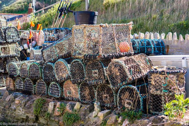 UK, Dorset, Fisher Pots