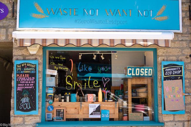 UK, Dorset, Shop