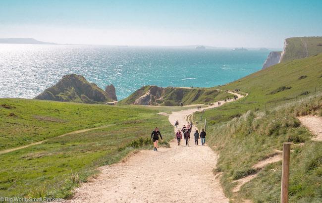 UK, Dorset, Southwest Coastal Path