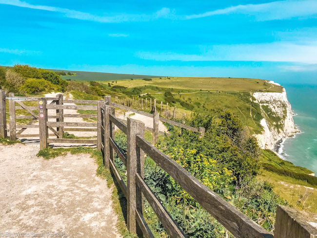 England, White Cliffs of Dover, Trail