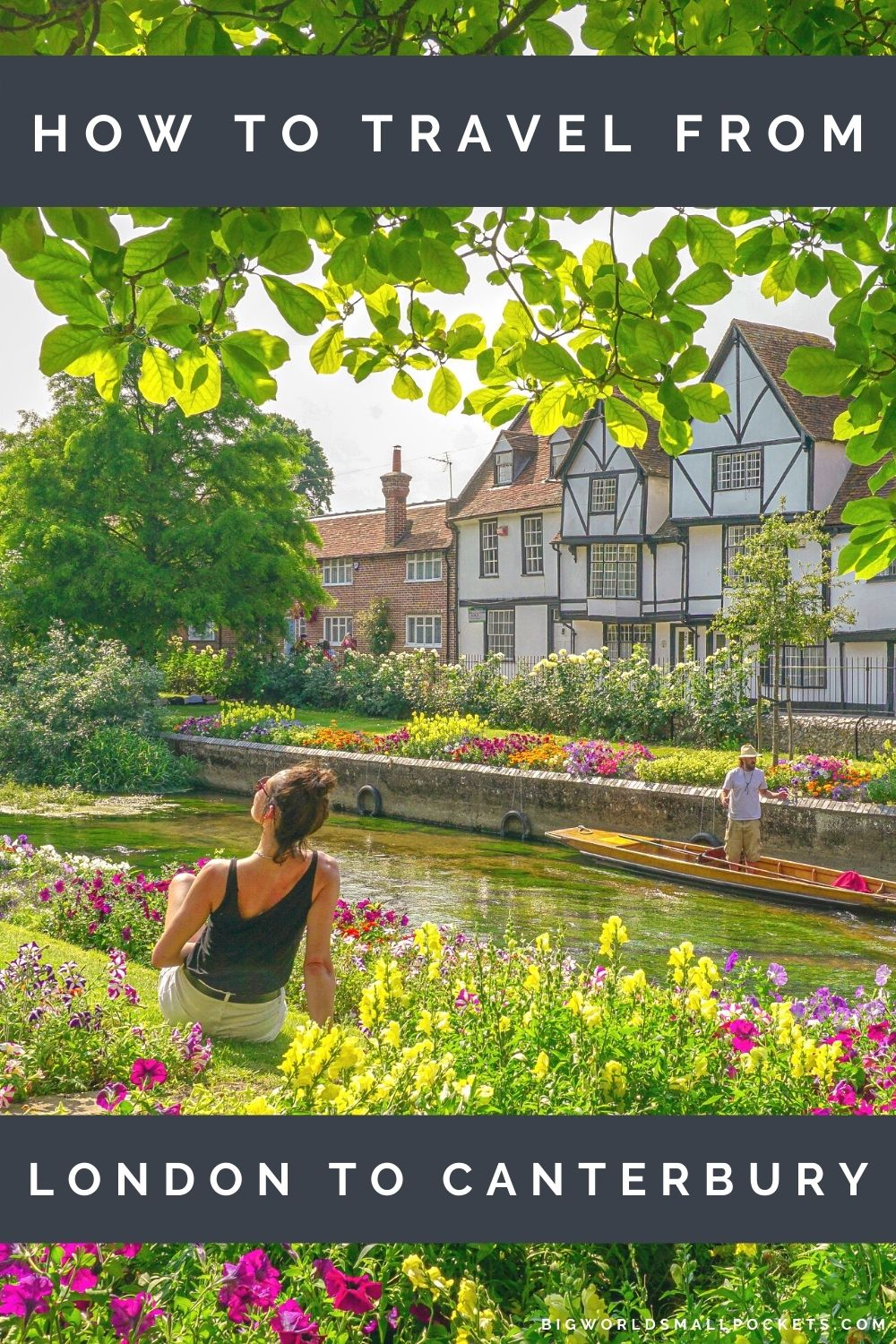 How to Travel from London to Canterbury, Kent, UK