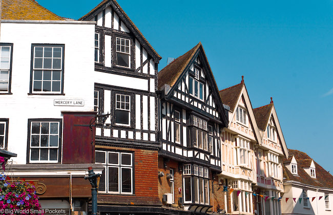 Kent, Canterbury, Buildings