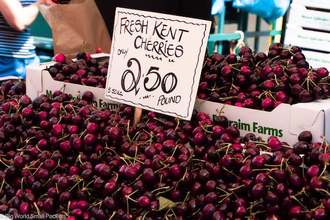 Kent, Canterbury, Cherries