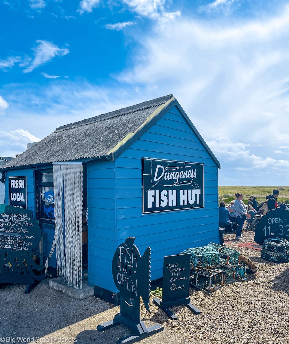 Kent, Dungeness, Fish Hut