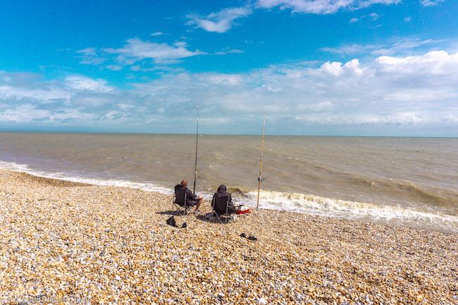 Kent, Dungeness, Fishing