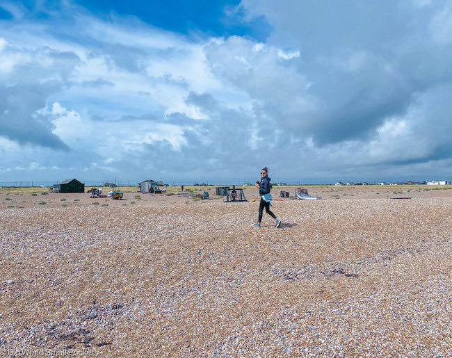 Kent, Dungeness, Me Walking