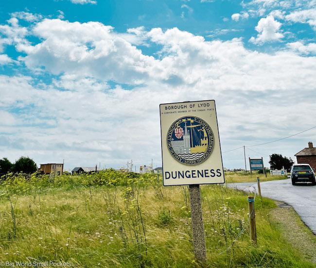 Kent, Dungeness, Sign