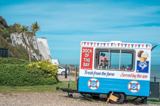 Kent, White Cliffs of Dover, Kiosk