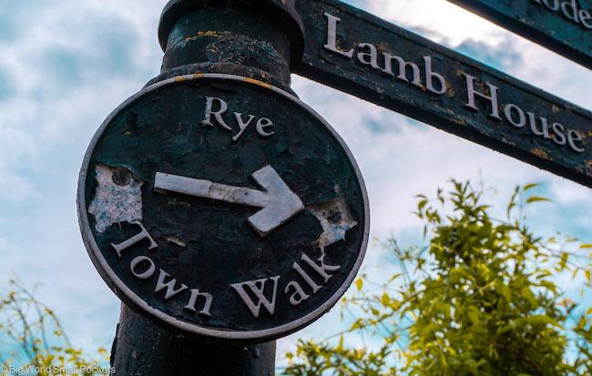 Sussex, Rye, Town Walk