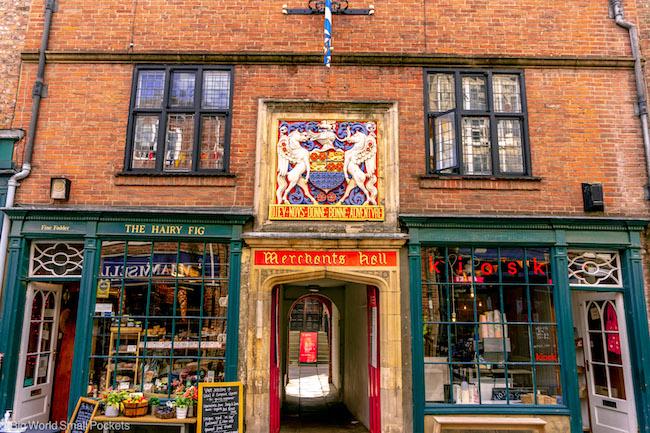 England, York, Merchants Hall