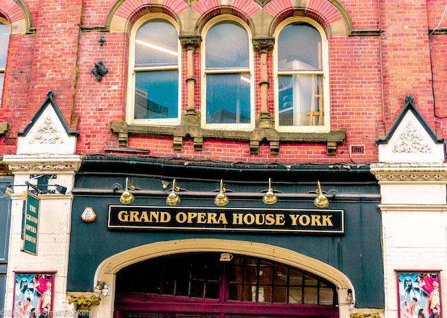 England, York, Opera House