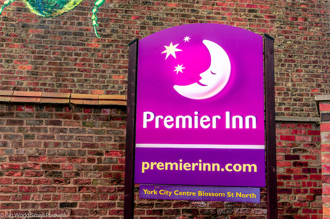 England, York, Premier Inn
