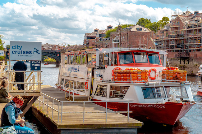 England, York, River Cruise