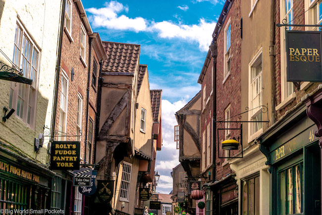 England, York, Shambles