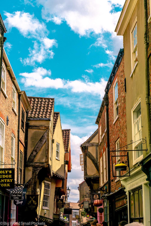 England, York, The Shambles