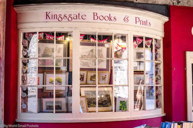 Hampshire, Winchester, Bookshop