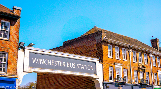 Hampshire, Winchester, Bus Station