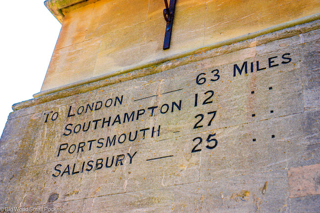 Hampshire, Winchester, From London