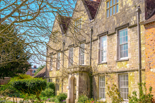 Hampshire, Winchester, Keats Walk