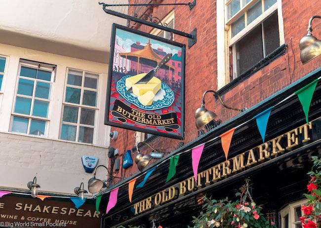 UK, Canterbury, Buttermarket