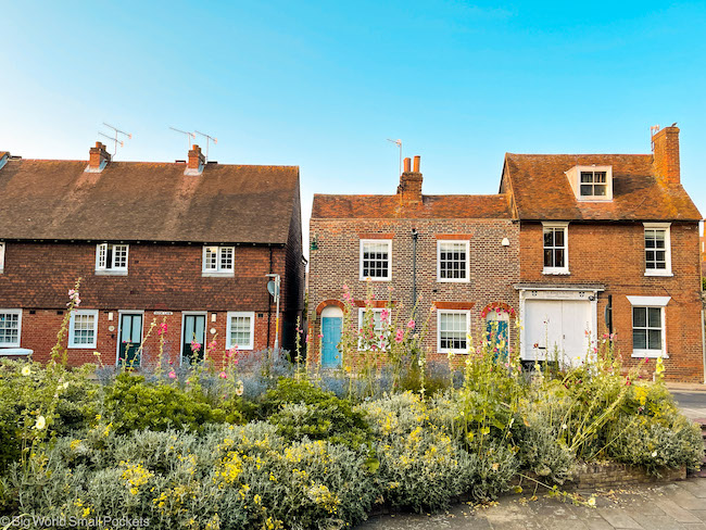 UK, Canterbury, Houses
