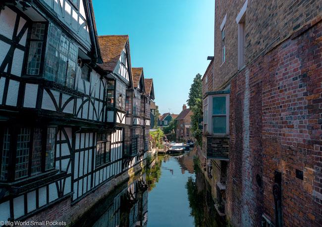 UK, Canterbury, River