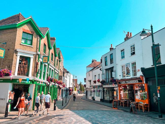 UK, Canterbury, Street