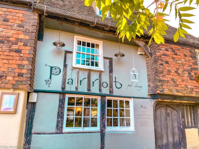 UK, Canterbury, The Parrot